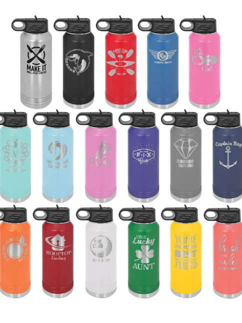 32 Oz Polar Water Bottles